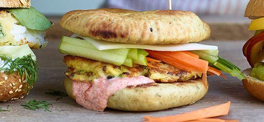 Delhaize - Indische veggieburger