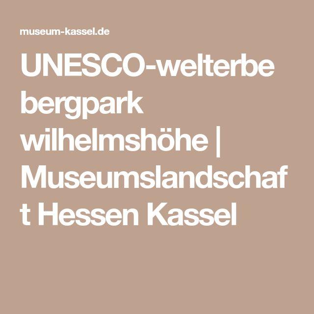 UNESCO-welterbe bergpark wilhelmshöhe | Museumslandschaft Hessen Kassel