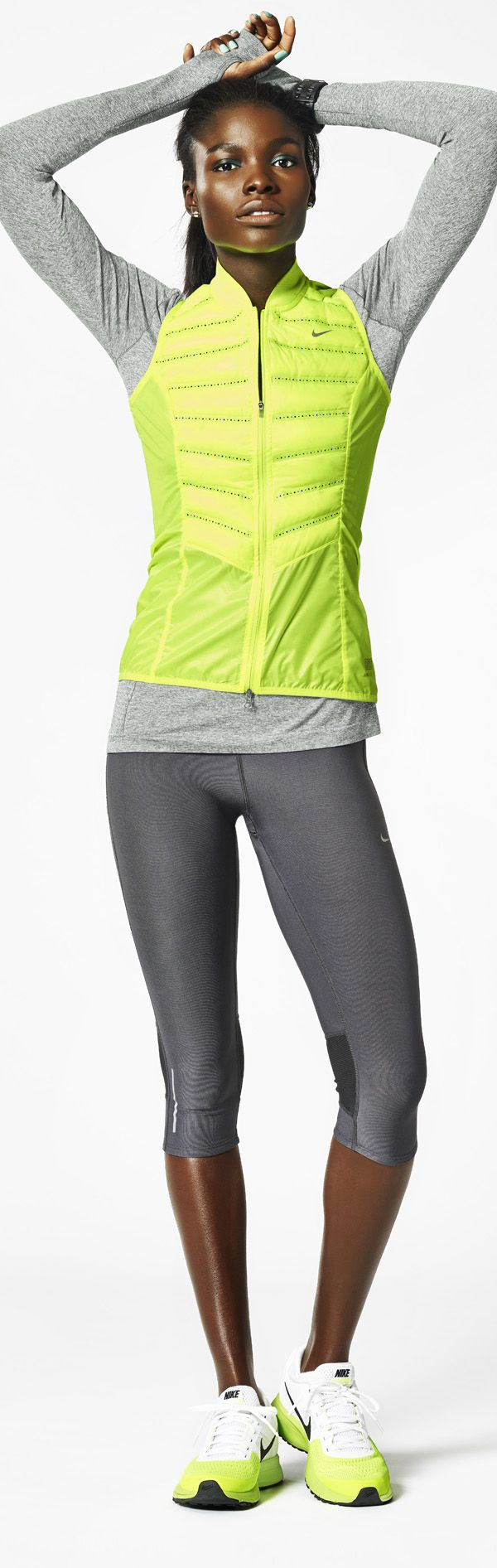 Light up your run. #Nike #running #style
