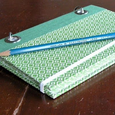 Notebooks made from Readers Digest Condensed Novel Covers