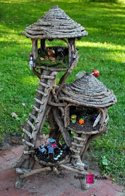 17 Best 1000 images about Crafts Fairy houses and gardens on Pinterest