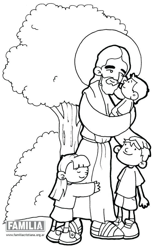 Dibujos Para Colorear De Jesus Familia Cristianade Paulinas A