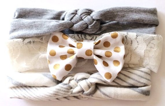 Headbands for baby girl.