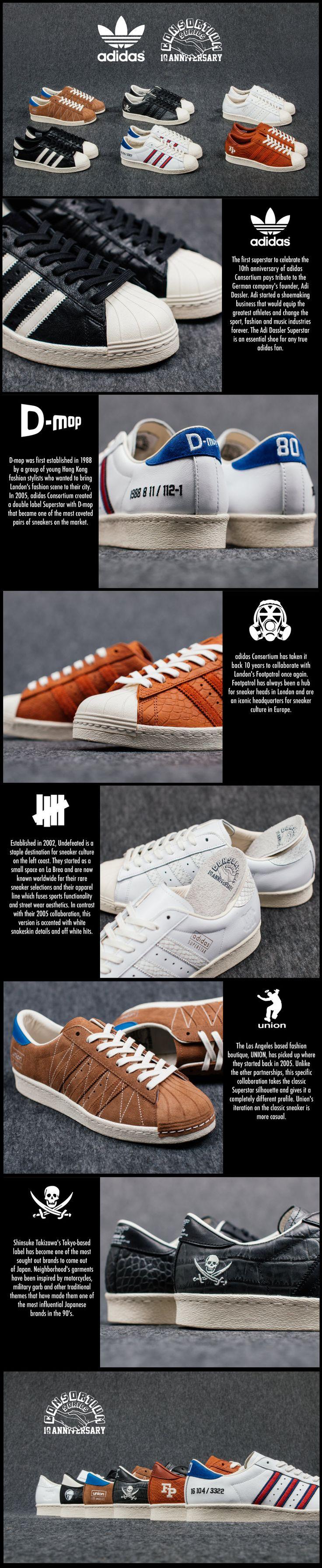 adidas Consortium Superstar 10th Anniversary