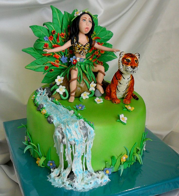 Katy Perry (Roar) Cake