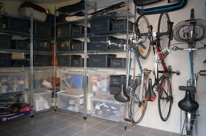 Förvaring garage