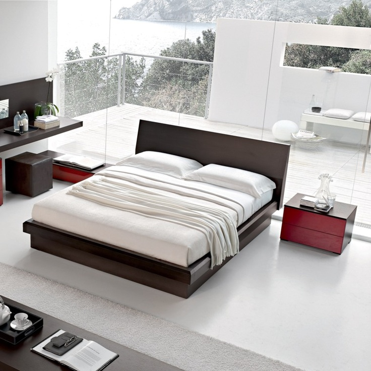 17 best images about time for beds on pinterest contemporary fabric warm and modern beds - Contemporary platform bed ideas ...