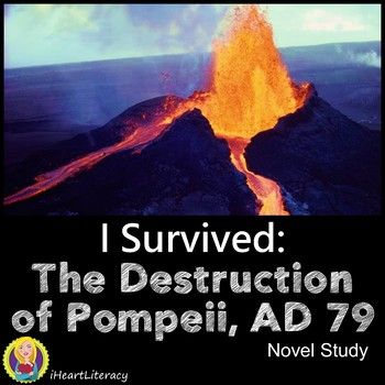 This I Survived The Destruction of Pompeii AD 79 by Lauren Tarshis Novel Study is over 60 pages! The booklet style student comprehension packet breaks the book down into five sections for easier understanding. Teachers have very little prep - Just print, copy, and go!