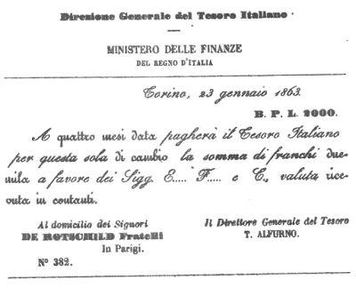 dalvenetoalmondo: IL DEBITO NASCE CON L'UNITA' D'ITALIA