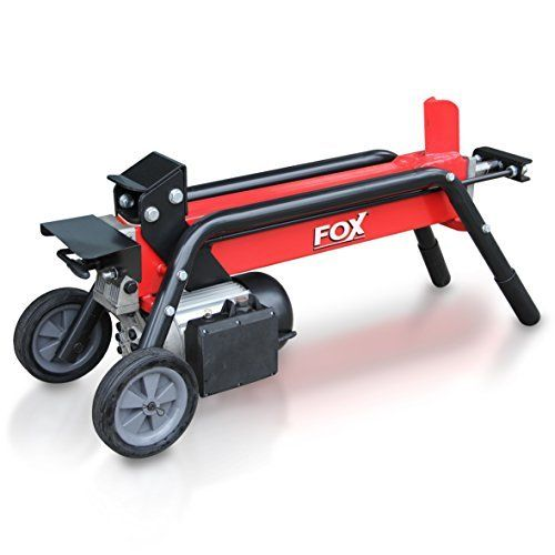 There is no need for excessive exertion (apart from lifting the logs) with the majestic Fox 6 Ton Log Splitter.   This easy to use electrically powered machine will power through logs, hardwood and softwood up to 520mm long & 250mm diameter, using a 6 ton hydraulic ram powered by a 2HP, 230V motor.  The Fox 6 Ton Log Splitter is fitted with a unique safety operating system, for that extra peace of mind, as well as heavy duty wheels and a handle for added manouverability.