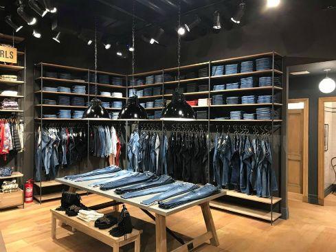 Diseño de locales de moda – Kosiuko & Herencia Argentina – Abasto – Federico Dominguez