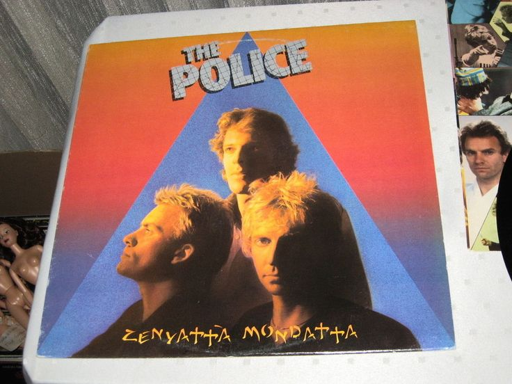 The Police ‎- Zenyatta Mondatta, Lp nm