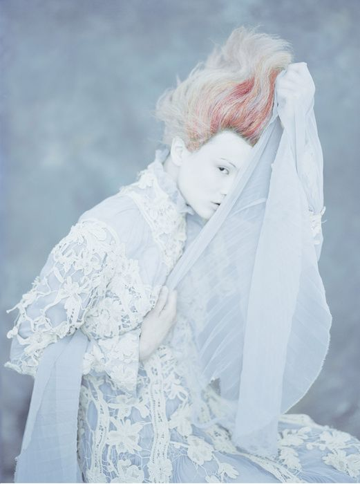 White fashion photography #editorial