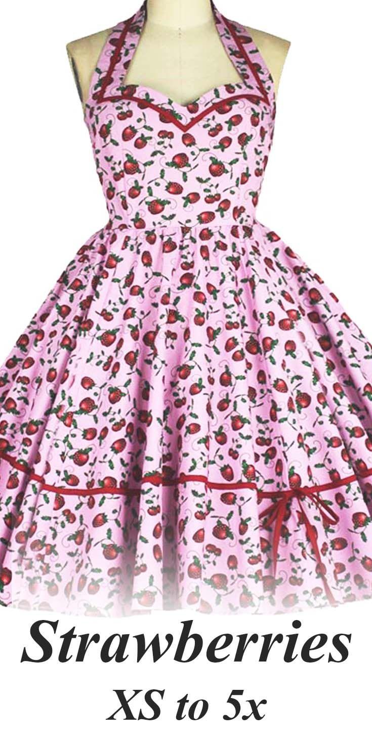 Strawberry Pinup Dress