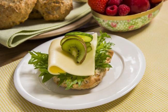 Cottage cheese scones