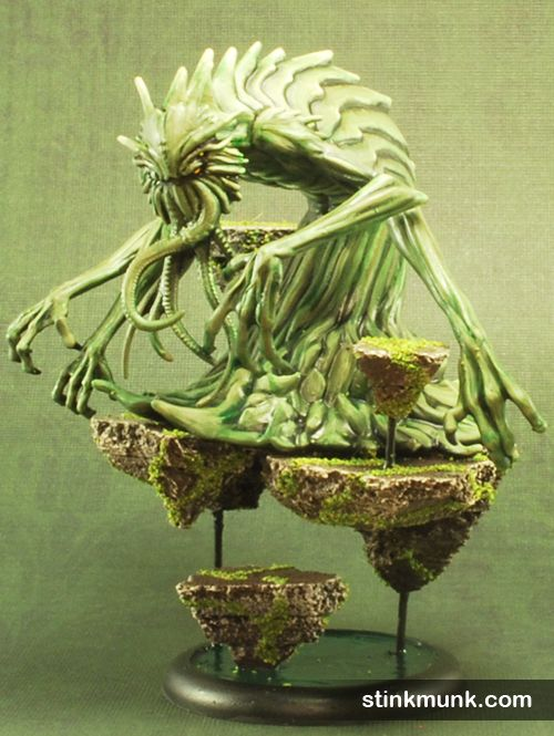Nothing Beast Nightmare Edition Model By Wyrd Miniatures Painted Stinkmunk October