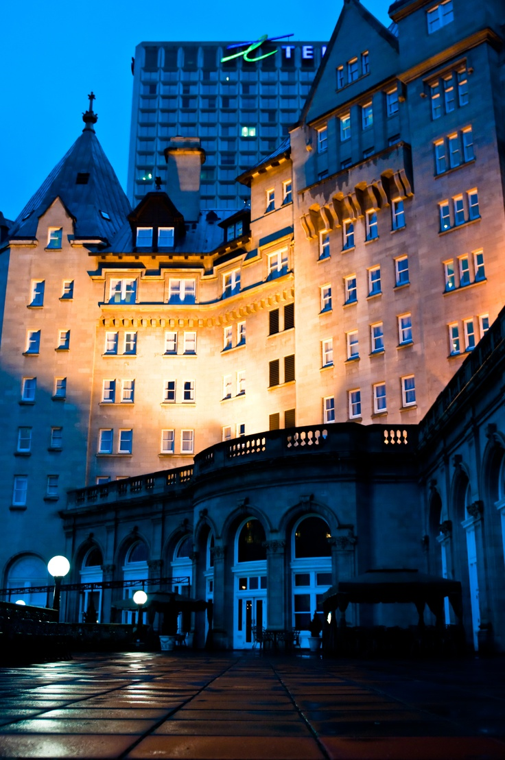 The Fairmont Hotel Macdonald in Edmonton, Alberta where we have all our graduation parties for our MaKami College massage therapy students that graduate from our school.  www.makamicollege.com