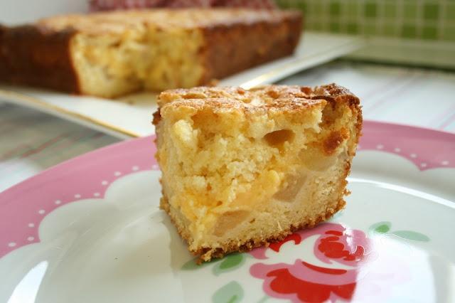 Apple Custard Teacake from MakeitPerfect