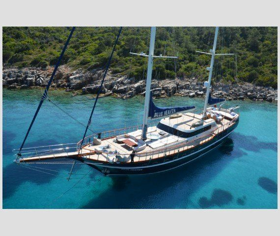 a touch of class with #gulet #charter BLUE HEAVEN for #summeringreece or #turkey  sleeps 9