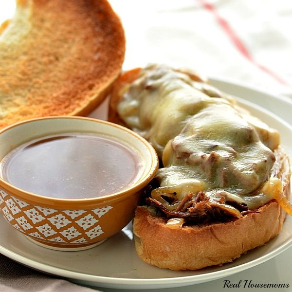 Slow Cooker French Dip - The best homemade french dip I've made so far!