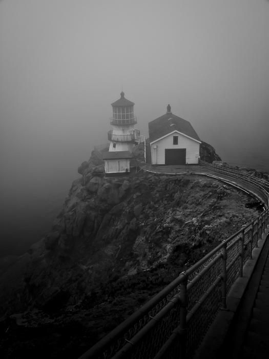 Foggy Day at Point Reyes Lighthouse-My Favorite Places, Favorite Places & Spaces,  Places of interes, Pin more  Favorite Places  andl places  from www.honeybuy.com.