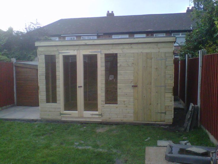 Garden Sheds And Summerhouses 12x8 combination summerhouse / shed/ log cabin in garden & patio