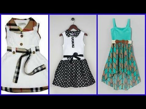 0a5b47746 Top 50 Cotton Frocks Designs For Kids - Simple & Stylish Kids Cotton  Dresses Ideas 2017 - YouTube
