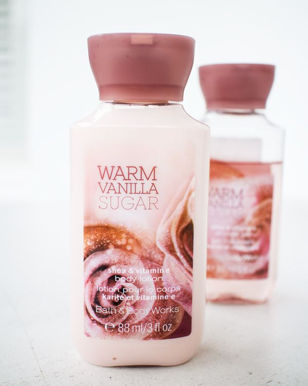 Warm Vanilla Sugar Body Lotion that turns out to be disappointing. :(