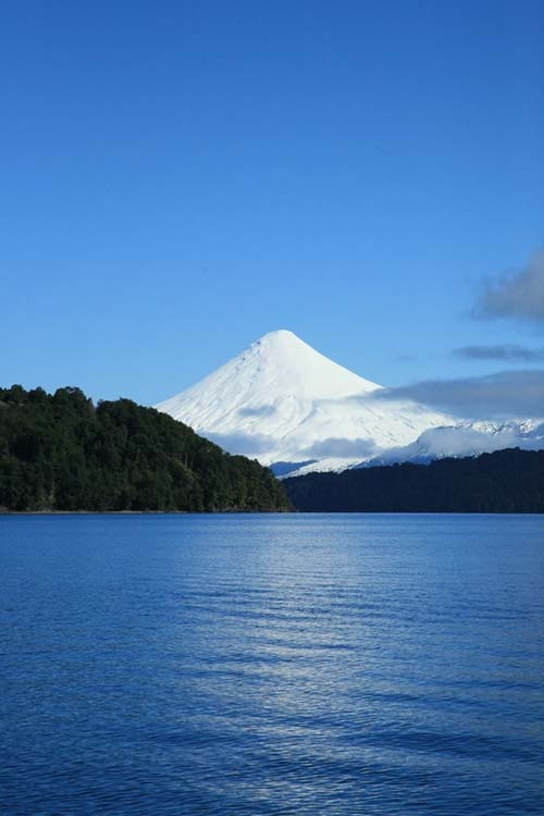 Volcán Osorno, Chile's most active volcano.