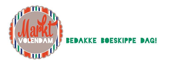 Logo voor de markt in Volendam. In samenwerking met Marcel Jansen van Strøm Creative Marketing.