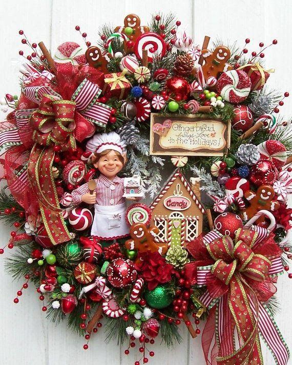 5 coronas de navidad para la puerta de tu casa