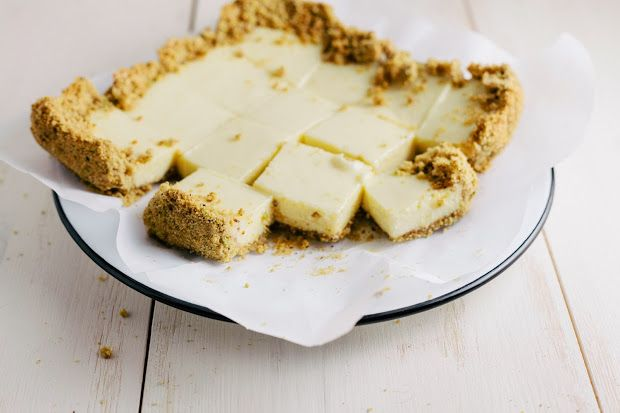 ... for key lime bars with a graham cracker and pistachio crumble crust