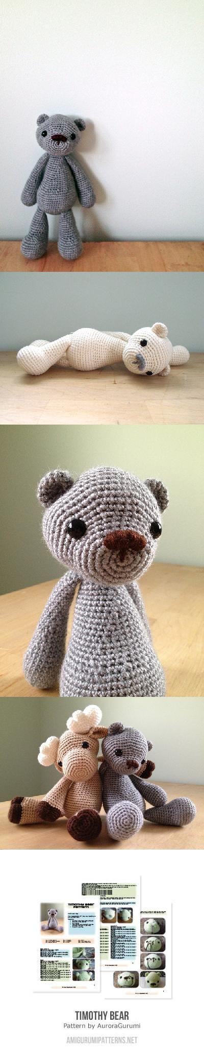 82 besten teddy Bilder auf Pinterest | Bären, Gehäkelte spielsachen ...