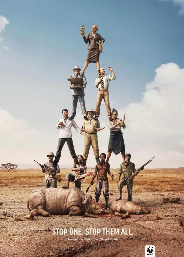WWF: Stop one. Stop them all (1)