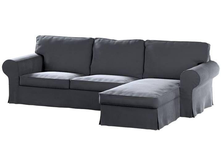 Ektorp 2 Sitzer Sofabezug Mit Recamiere Couch Sofa Furniture