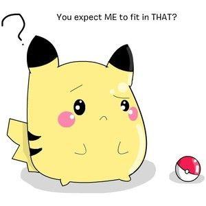 Cute Pikachu.