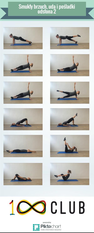 Trening na smukły brzuch, uda i pośladki - odsłona druga! #trening #kobieta #fitness #fit #100club