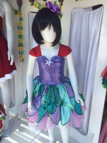 Fantasia Ariel luxo R$ 420,00