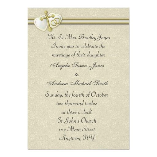 Christian Wording For Wedding Invitations: 241 Best Images About Christian Wedding Invitations On