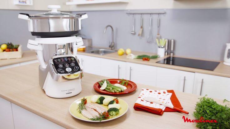 A Panela de Vapor da Cuisine Companion permite preparar refeições saudáveis e saborosas para a sua família. Graças à grande cuba de vapor e ao tabuleiro de vapor superior posicionado em cima da taça, é possível cozinhar em 2 níveis adicionais e em simultâneo! Consegue preparar ao mesmo tempo vários pratos e até 4 receitas de uma só vez!