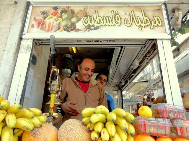 Fruit vendor in Amman.