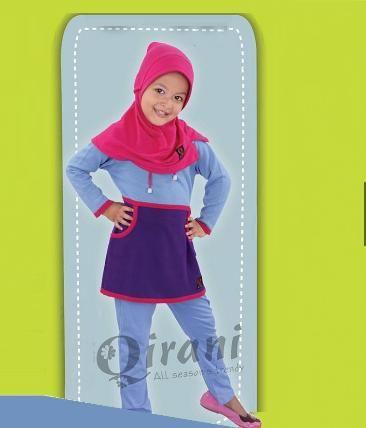 Beli Baju Stelan & Celana Anak Qirani Kids QK-39 Biru Muda dari Aprilia Wati agenbajumuslim - Sidoarjo hanya di Bukalapak