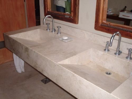 bachas de marmol para baños - Buscar con Google