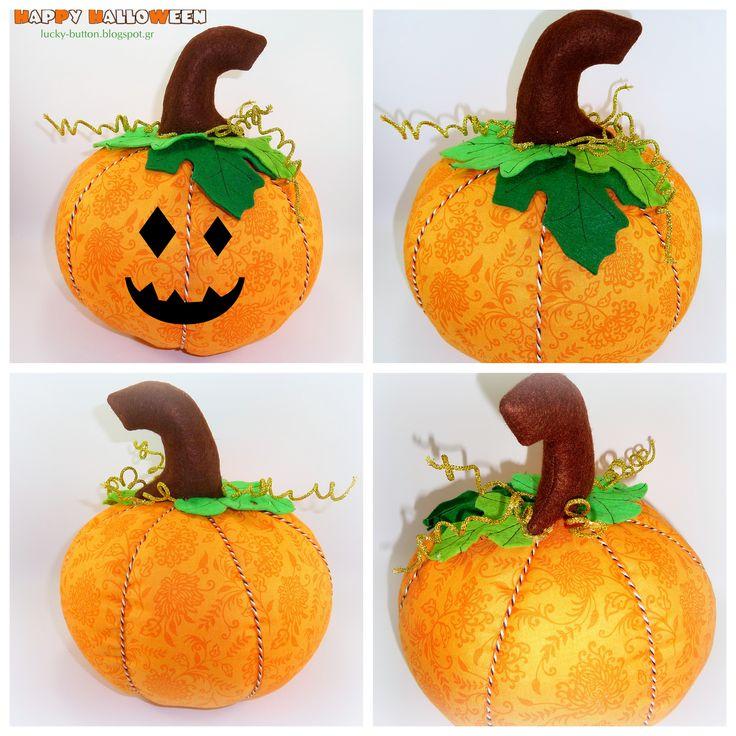 Pumpkin http://lucky-button.blogspot.gr/