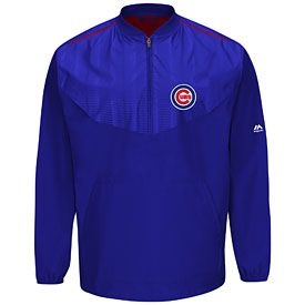 Get this Chicago Cubs On-Field Long Sleeve Training Jacket at ChicagoTeamStore.com