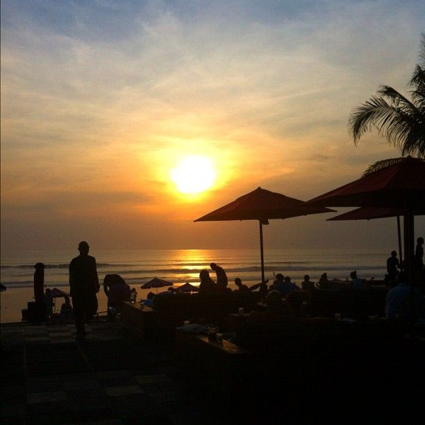 Still the place to watch the sunset KU DE TA in Badung, Bali