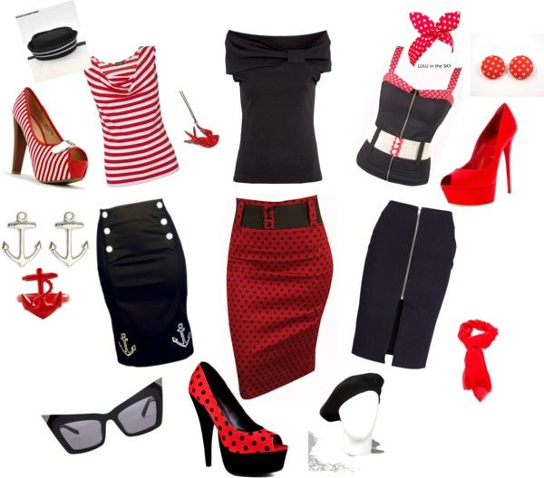 """Rockabilly Chic"" by davis-sugar on Polyvore"
