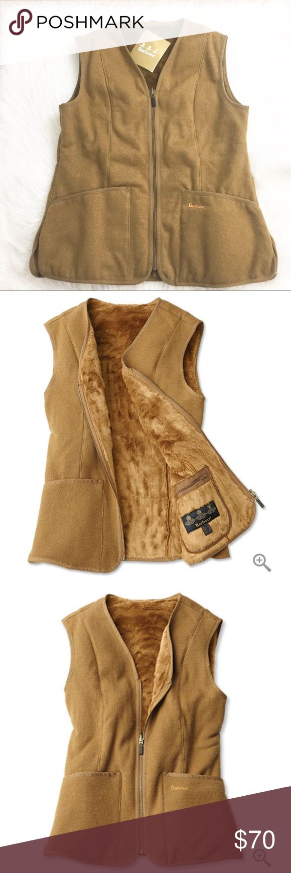 NWT Barbour Bower Fur Lined Vest Liner Brand new with tags. Extremely high quality. Fur lined. Currently selling online for $119+ Barbour Jackets & Coats Vests