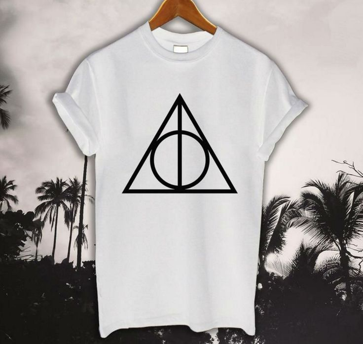 Deathly Hallows Triangle- T-shirt