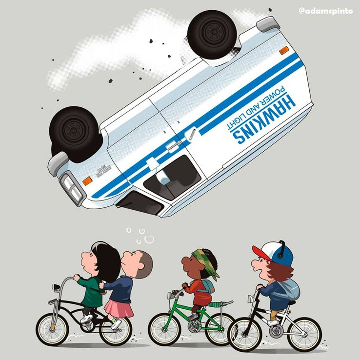 Stranger Things + Peanuts
